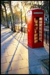 Red London Phone Box